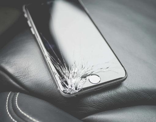 Schade aan mobiele telefoons…